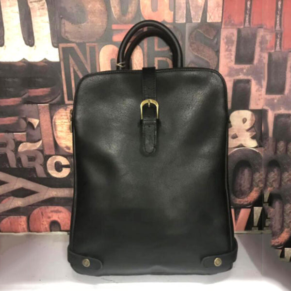8284cc4dc ... Full Grain Leather Laptop Shoulder Bag Tote Bag Retro Messenger Bag  Z8822 - ROCKCOWLEATHERSTUDIO ...