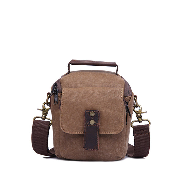 Canvas Men Shoulder Tote Bag Waterproof Canvas Camera Messenger Bag Men Canvas Shoulder Bag YD3190 - ROCKCOWLEATHERSTUDIO
