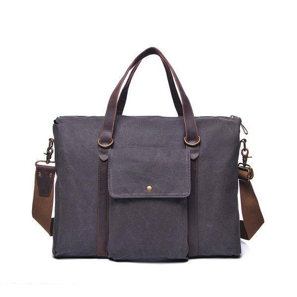 Women Canvas Shoulder Bag Vintage Canvas Messenger Bag Ladies Large Capacity Tote Bag YD2175