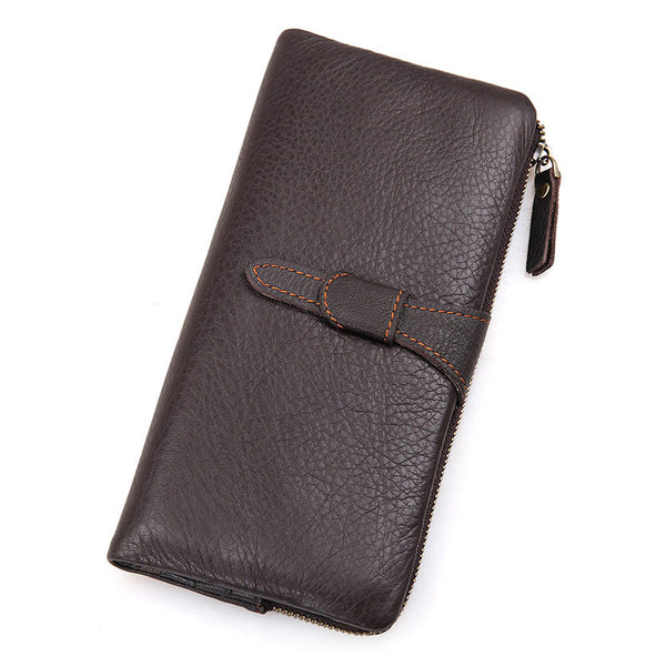 Mens Leather Wallets , Wallet With Money Clip, Wallet Kate SpadeCard Holder 8139 - ROCKCOWLEATHERSTUDIO