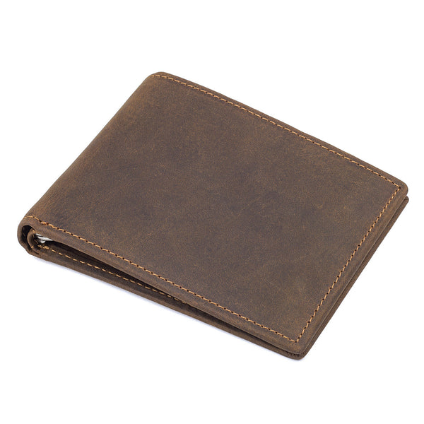 Mens Leather Wallets Wallethub, Cool Wallets For Men, Magic Wallet, Front Pocket Wallet  8166 - ROCKCOWLEATHERSTUDIO