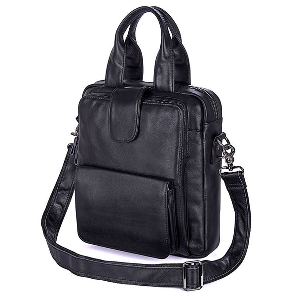 Messenger Bag mens leather Mens Satchel For Men Leather Messenger Shoulder Bag 7266