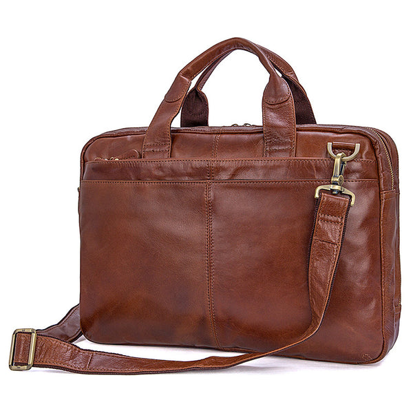 Best Laptop Messenger Bag Messenger Bag Amazon Men Leather Bags Side Bags For Mens 7092 - ROCKCOWLEATHERSTUDIO