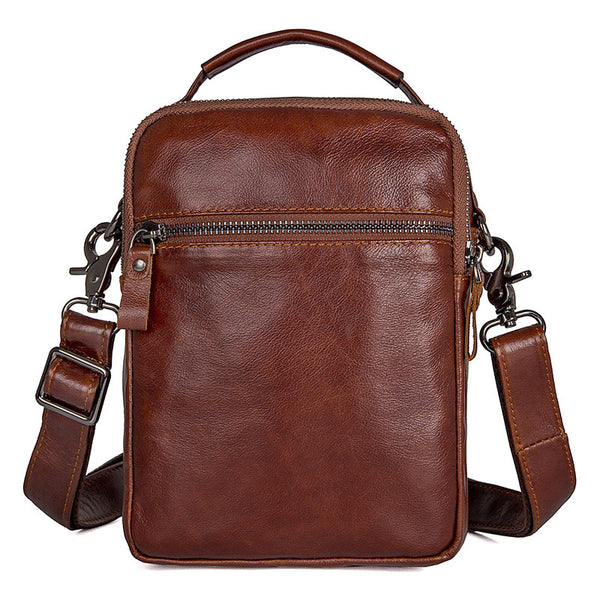 35db470c63 Buy Awen hot sell factory directly sale men leather messenger bag with side  expandable zipper
