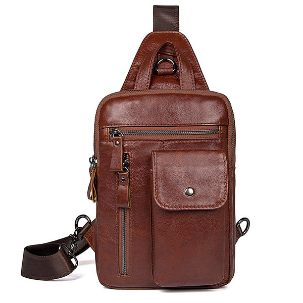 ... Mens Small Messenger Bags Mens Satchel For Men Leather Messenger  Shoulder Bag 4006 ... 399e0314eed33