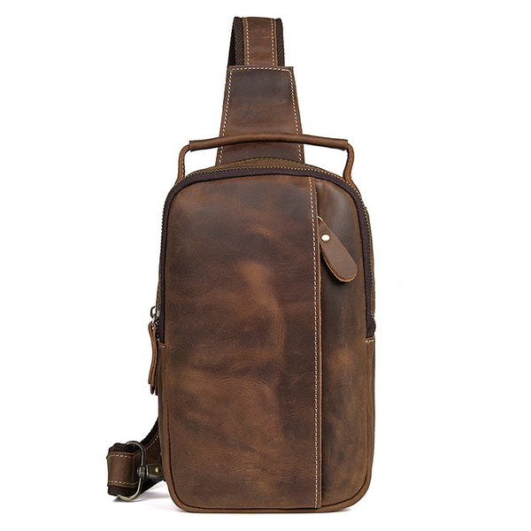 Messenger Bag Razer, Postage Bags, Mens Leather Satchel Bag Mens Work Bags 4009 - ROCKCOWLEATHERSTUDIO