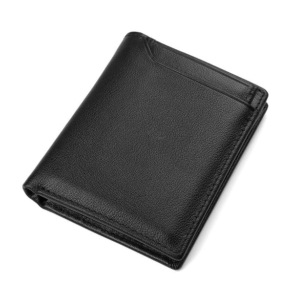 Rfid Wallet, Mens Leather Wallets Wallethub, Cool Wallets For Men, Bitcoin Wallet  8341 - ROCKCOWLEATHERSTUDIO