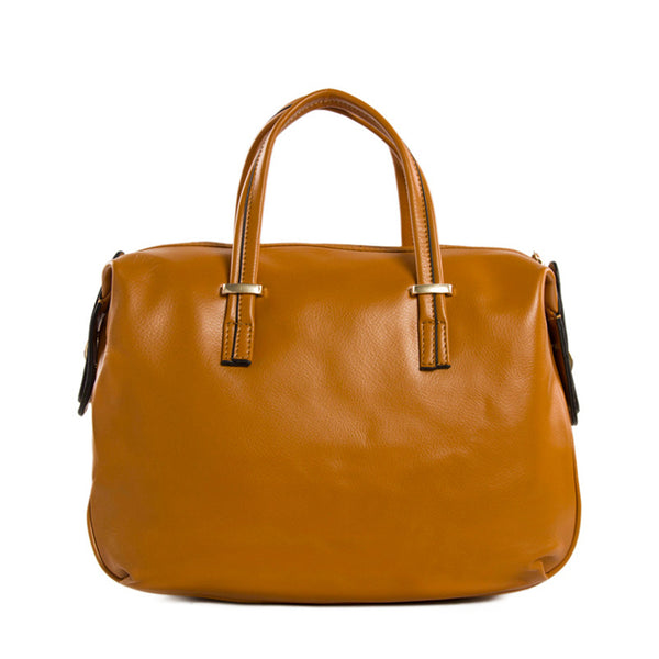 Flash Sale Full Grain Leather Women Handbags, Fashion Satchel Bag XB-06 - ROCKCOWLEATHERSTUDIO