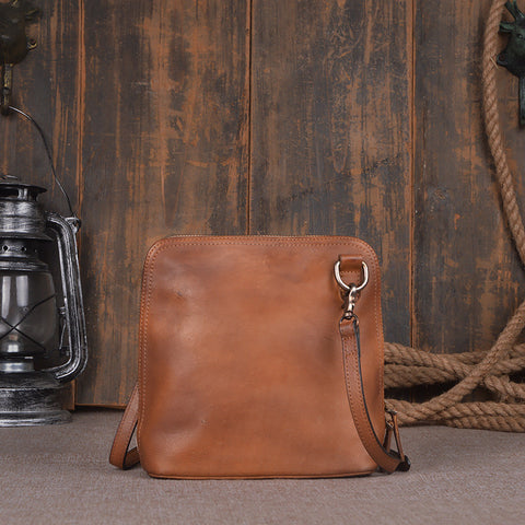 Leather Satchel Bags Leather Shoulder Bags 9037 - ROCKCOWLEATHERSTUDIO