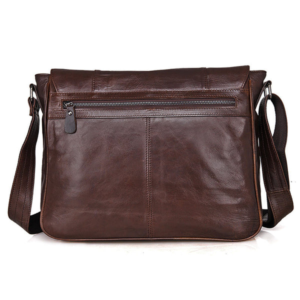 e343962fbf ... Bike Messenger Bag Men Vintage Leather Bags Crossbody Side Bags For Mens  7338 - ROCKCOWLEATHERSTUDIO ...