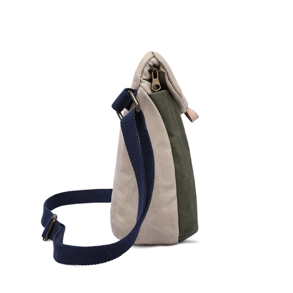 3aa2f4fcbc ... New Design Canvas Leather Messenger Bag Crossbody Shoulder Bag Single  Shoulder Handbag 5265 ...