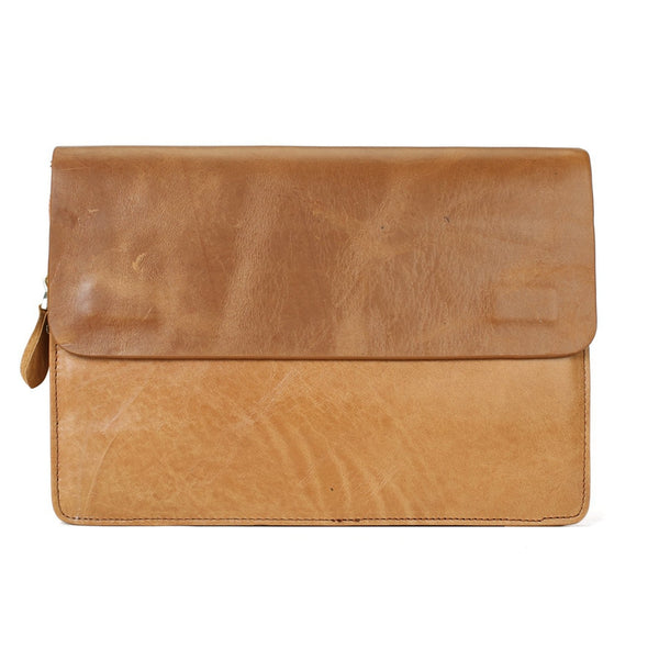 Flash Sale Fashion Envelope Clutch Purse Leather Wallet iPhone Case 8038 - ROCKCOWLEATHERSTUDIO