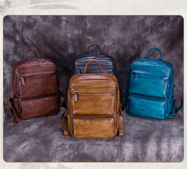 16d5cdc330ee ... Full Grain Leather Backpack Purse