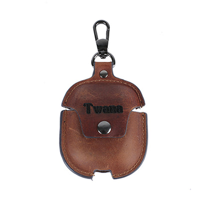 Flash Sale Leather Earphone Case Leather AirPods Case Airpod Cover Earphone Holder Handmade Earphone Case