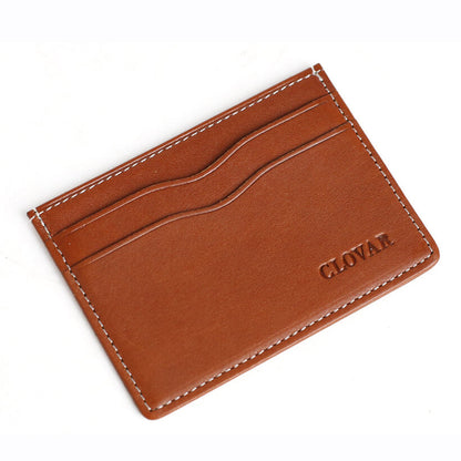 Full Grain Leather Card Holder, Multi-Card Wallet, Short Wallet DB09