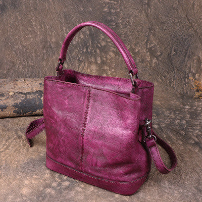 Handmade Full Grain Leather Women Shoulder Bag,  Ladies Handbag, Designer Handbag F180313