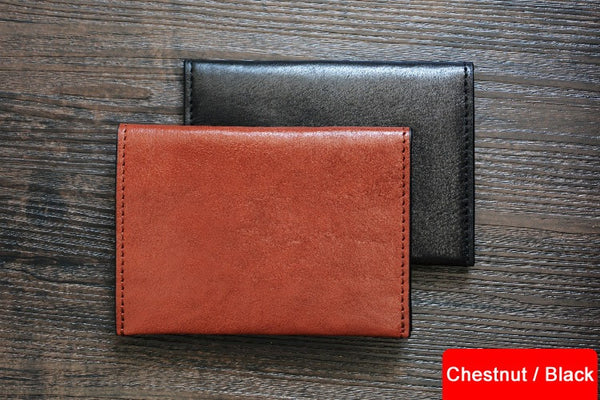 Custom Handmade Vegetable Tanned Italian Leather Passport Holder Wallet Clutch D050 - ROCKCOWLEATHERSTUDIO