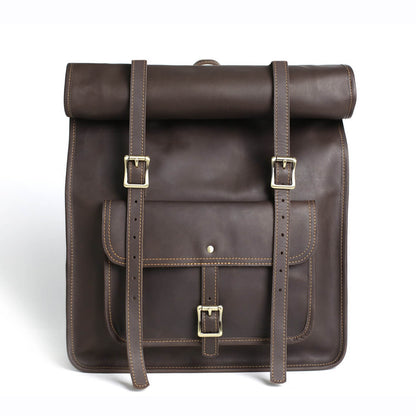 Original Design Full Grain Leather Backpack, Travelling Backpack, Handmade Laptop Backpack MG33