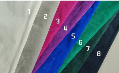 Suede Lining Color Options - ROCKCOWLEATHERSTUDIO