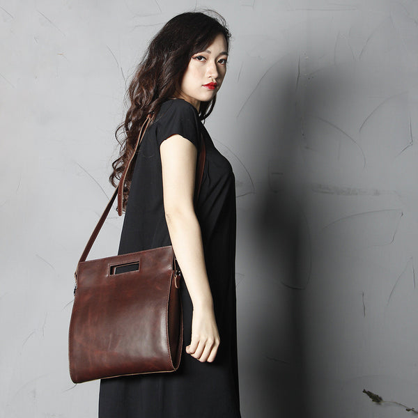 High Fashion Women Leather Tote Bag, Satchel Shoulder Bag, Messenger Bags SCY09 - ROCKCOWLEATHERSTUDIO