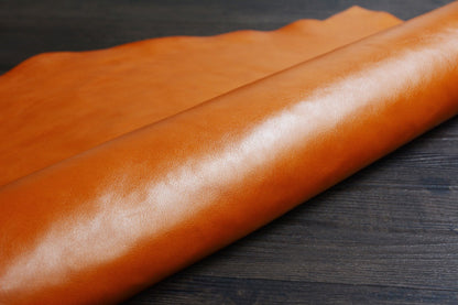 Italian Vegetable Tanned Full Grain Leather Color Options - ROCKCOWLEATHERSTUDIO