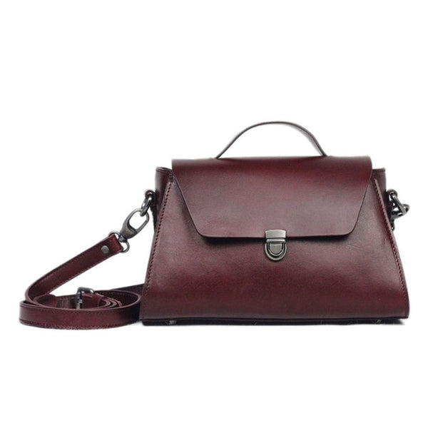 c09476aa37e9 ... Vegetable Tanned Leather Satchel Bag