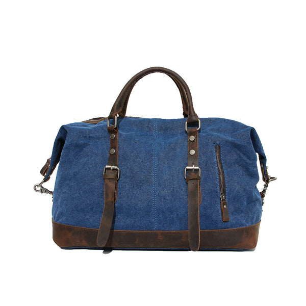 Canvas Mens Duffle Bag, Travel Bags for Men, Gym Bags for Men - ROCKCOWLEATHERSTUDIO