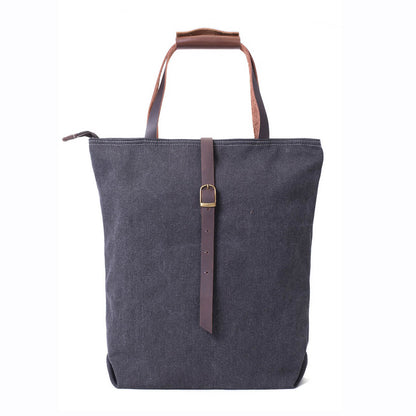 Waxed Canvas Tote Bag, Handbag for Women, Daily Bag, Shoulder Bag 14099