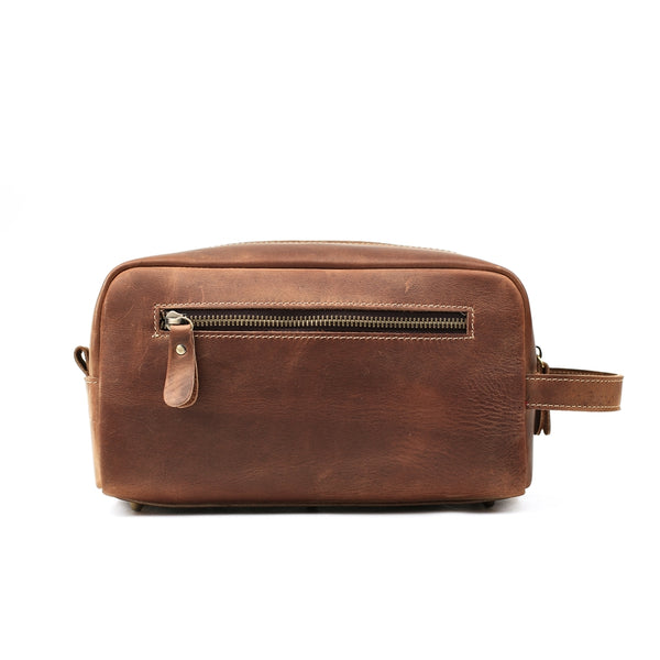 849965a8afdf Personalized Leather Dopp Kit, Groomsmen Gift, Custom Leather ...