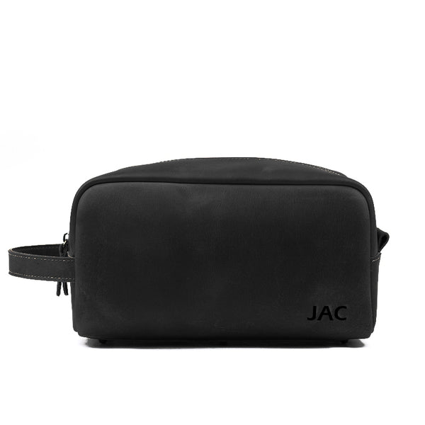 ... Personalized Leather Toiletry Bag 275ef38b50db4
