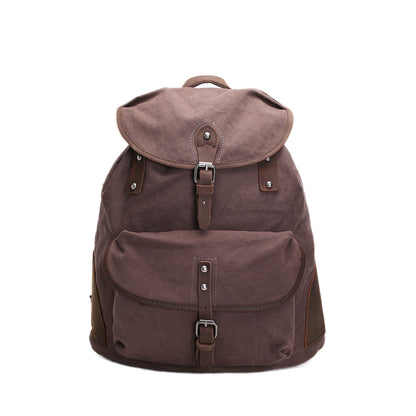 Flash Sale ROCKCOW Specially High Density Thick Canvas Backpack Rucksack AF18 - ROCKCOWLEATHERSTUDIO