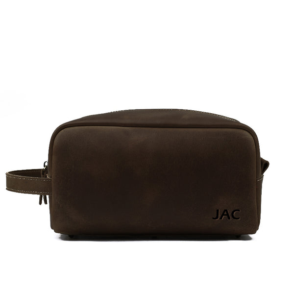 f9ee9536b20b Personalized Leather Toiletry Bag, Groomsmen Gift, Custom Leather Dopp Kit  with Monogram, Shave Kit, Mens Gift Birthday Gift 2025