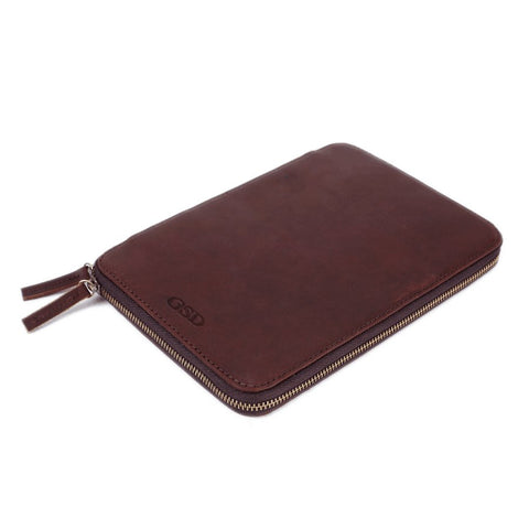Personalized Leather Travel Wallet, Passport Holder - Groomsmen Gift