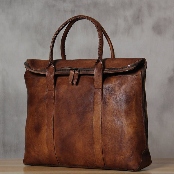 ... ROCKCOW Italian Leather Men s Leather Laptop Bag Briefcase Messenger Bag  9069 - ROCKCOWLEATHERSTUDIO ... b9f01d9150ae8