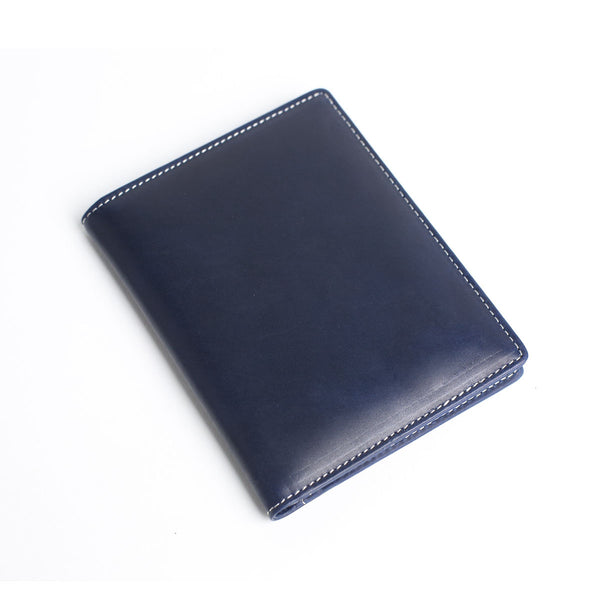 Personalized Initials Leather Passport Holder, Card Holder - Groomsmen Gifts - ROCKCOWLEATHERSTUDIO