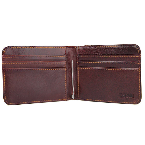 bd6ba8d5bd89e ... Handmade Top Grain Leather Wallets RFID Personalized Leather Wallet  Perfect Men s Gift Card Holder ...