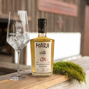 MARX - ELDERFLOWER GIN (40,00%) 700 ml | inkl. 6 Tonic Water
