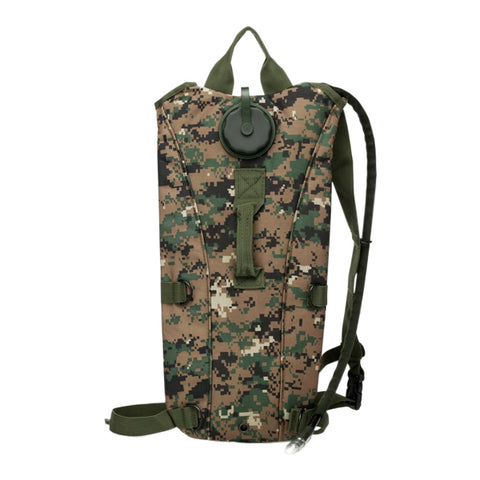 Hydration Pack with 2.5L Backpack Water Bladder for Hunting Climbing Running and Hiking(Jungle Digital)
