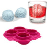 Creative Brain Shape Freeze Ice Cube Tray Mold Kitchen Tool