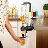 Wine Dispenser Machine Single Optic Rotary Alcohol Beverage Bar Butler Drinking Pourer Party Tool