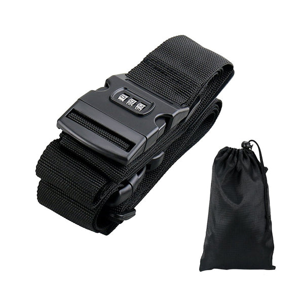 Cross Suitcase Belt with Password Luggage Strap