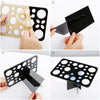 Makeup Brush Holder Drying rack with 28 Mix Holes