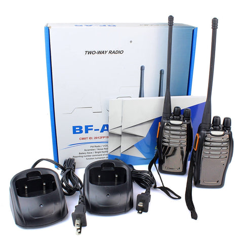 2PCS Baofeng BF-A5 Walkie Talkie UHF Scan VOX Bright Flashlight Two Way Radio