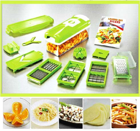 Kitchen Tool NEW in Box Genius Nicer Dicer Plus Multi Chopper Vegetable cutter