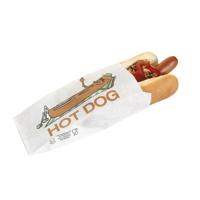 Sacchetto per hot dog 500pz € 0,0192 cad+iva
