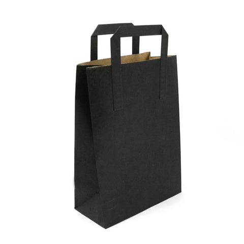 Shopper in carta nera 250pz da € 0.147 cad
