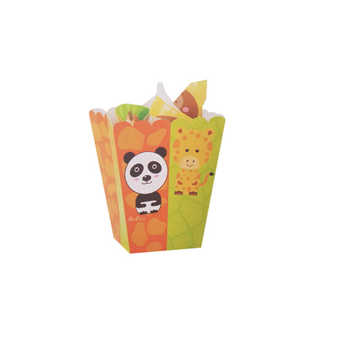 4 pz box party zoo € 0.65 cad + iva