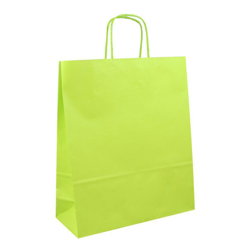 25 pz Shopper in carta da € 0,25 cad + iva