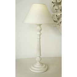 Laura Cream Lamp