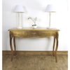 Leona Gold Console Table